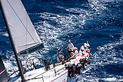 Evniki sailing in the  Corfu Challenge, day three.