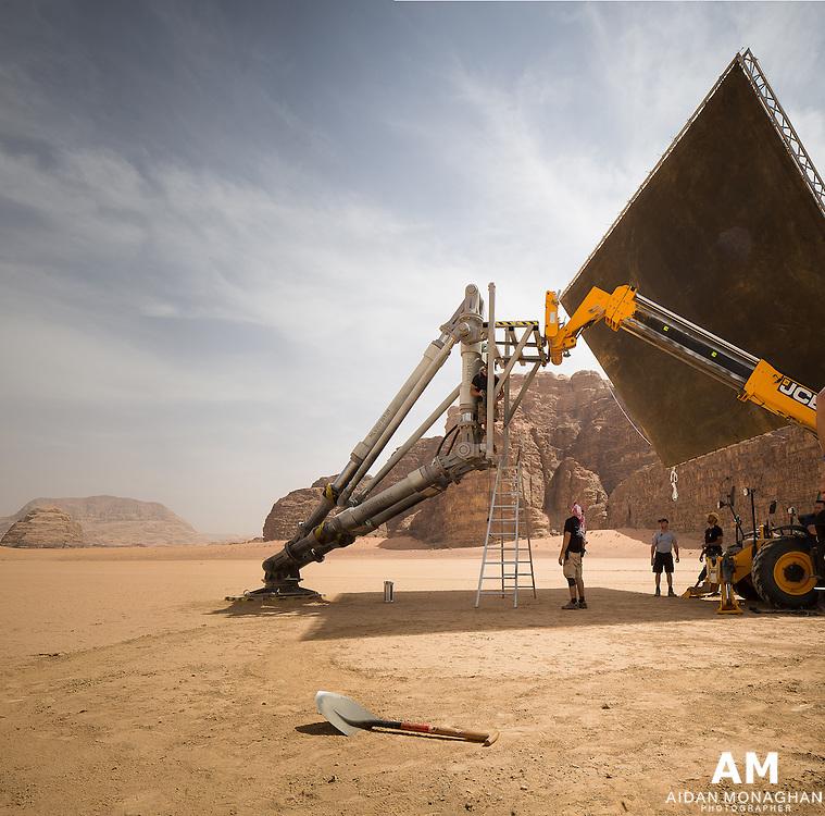 The Martian. Behind The Scenes Mars Ascent Vehicle (MAV).