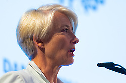 Dame Emma Thompson addresses the audience at the launch of the Children's Future Food Inquiry at Church House in Westminster. London, April 25 2019.