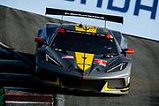 October 30-Nov 1, 2020. IMSA Weathertech Raceway Laguna Seca: #4 Corvette Racing Corvette C8.R, GTLM: Oliver Gavin, Tommy Milner
