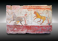 Paestrum, Andriuolo. Tomb 24.  (370-360 BC ) .<br /> <br /> If you prefer to buy from our ALAMY PHOTO LIBRARY  Collection visit : https://www.alamy.com/portfolio/paul-williams-funkystock - Scroll down and type - Paestum Fresco - into LOWER search box. {TIP - Refine search by adding a background colour as well}.<br /> <br /> Visit our ANCIENT GREEKS PHOTO COLLECTIONS for more photos to download or buy as wall art prints https://funkystock.photoshelter.com/gallery-collection/Ancient-Greeks-Art-Artefacts-Antiquities-Historic-Sites/C00004CnMmq_Xllw