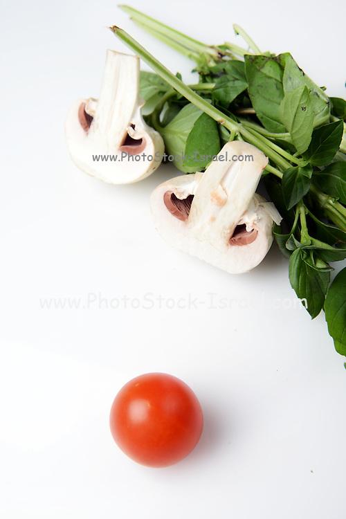 Cherry Tomato, Mushroom and fresh herbs