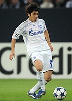 Fotball<br /> Tyskland<br /> 20.10.2010<br /> Foto: Witters/Digitalsport<br /> NORWAY ONLY<br /> <br /> Atsuto Uchida (Schalke)<br /> <br /> Champions League, Gruppenphase, FC Schalke 04 - Hapoel Tel Aviv 3:1