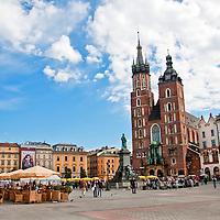 Krakow Poland Travel Stock Photos