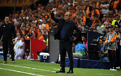 September 18, 2018 - °Stanbul, Türkiye - Galatasaray's head coach Fatih Terim during Galatasaray - Lokomotiv Moscow UEFA Champions League Game at Turk Telekom Arena, 18th of Sept. 2019. (Credit Image: © Tolga Adanali/Depo Photos via ZUMA Wire)