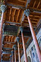Ouzbekistan, Boukhara, patrimoine mondial de l Unesco, la mosquee Bolo Haouz // Uzbekistan, Bukhara, Unesco world heritage, Bolo Haouz mosque