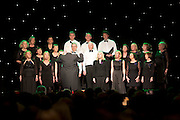 Seamus Leonad lead GUH Choral Society   in Choir Factor 2014 in the Radisson blu Hotel, Galway in aid of SCCUL Sanctuary at Kilcuan, Clarinbridge . Photo:Andrew Downes.