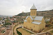 Georgia, Tbilisi, Church of St Nicolas inside the Narikala Fortress