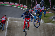 #70 (HASEGAWA Yuto) JPN during round 4 of the 2017 UCI BMX  Supercross World Cup in Zolder, Belgium.