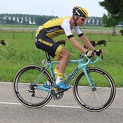25-06-2016: Wielrennen: NK weg Profs: Ouddorp<br />OUDDORP (NED) wielrennen  <br />Bert Jan Lindeman