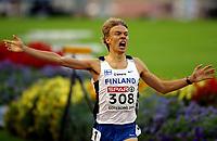 Friidrett , 11. juli 2006 , Gøteborg , EM ,<br /> Europamesterskapet ,<br /> Athletics , European  Championship <br /> Jukka Keskisalo , Finland , winner 3000 m steeplechase