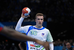 Grebenc Jan during 25th IHF men's world championship 2017 match between France and Slovenia at Accord hotel Arena on january 26 2017 in Paris. France. PHOTO: CHRISTOPHE SAIDI / SIPA / Sportida