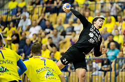 Gregor Potocnik of Gorenje during handball match between RK Celje Pivovarna Lasko and RK Gorenje Velenje in Last Round of 1. Liga NLB 2016/17, on June 2, 2017 in Arena Zlatorog, Celje, Slovenia. Photo by Vid Ponikvar / Sportida