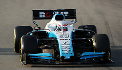Williams George Russell during day three of pre-season testing at the Circuit de Barcelona-Catalunya.