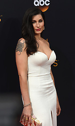 September 18, 2016 - Los Angeles, CA, USA - Trace Lysette arrives at the 68th Annual Emmy Awards at the Microsoft Theater in Los Angeles, California on Sunday, September 18, 2016. (Credit Image: © Michael Owen Baker/Los Angeles Daily News via ZUMA Wire)