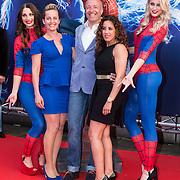 NLD/Amsterdam/20140422 - Premiere The Amazing Spiderman 2, Esther Schouten, Tim Coronel en Aicha Marchadi