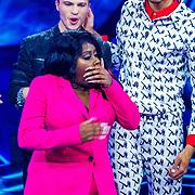 NLD/Amsterdam/20181025 - Finale The Talent Project 2018, emotionele winnares Avanaysa Neida