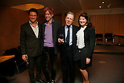 DOMINIC WEST, SIR BOB GELDOF, EDWARD FOX AND JOSEPHINE HART. After-drinks JOSEPHINE HART Poetry Hour. British Library. Euston Rd. London. 22 March 2006. ONE TIME USE ONLY - DO NOT ARCHIVE  © Copyright Photograph by Dafydd Jones 66 Stockwell Park Rd. London SW9 0DA Tel 020 7733 0108 www.dafjones.com