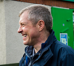 Pictured: Willie Rennie<br /> Scottish Liberal Democrat leader Willie Rennie called for a boost to vocational training opportunities when he met volunteers, Leah Muirhead and Graham Mathieson, at Gorgie City Farm in Edinburgh. After touring the farm, which provides volunteering and training opportunities for at-risk young people and adults with additional support needs, Mr Rennie set out Lib Dem plans to increase opportunities for industry-recognised vocational qualifications.  <br /> Ger Harley | EEm 8 April 2016