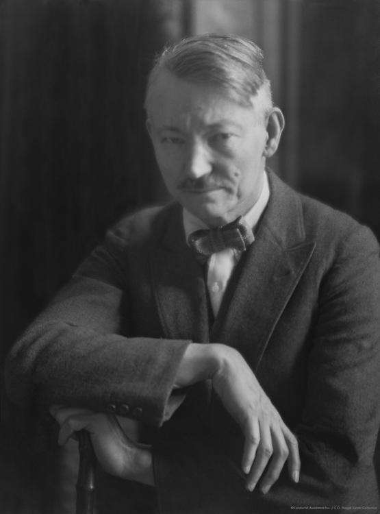 Robert Henri, American painter, 1921