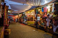 PUSHKAR, INDIA - CIRCA NOVEMBER 2016:  Street merchants around Pushkar during the Pushkar Camel Fair.