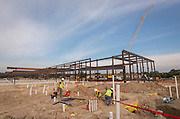 Construction of the new North Forest Early Childhood Center, October 9, 2015.