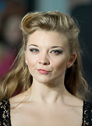 © Licensed to London News Pictures. 11/01/2012. London, UK.  Natalie Dormer at the Premier of W.E. at The Odeon, Kensington High Street, London on January 11th, 2012. Madonna directed W.E. which is a drama about the relationship between Wallis Simpson and Edward VIII.  Photo credit : Ben Cawthra/LNP