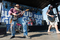 Stone Senate plays the Seawall stage during the Lone Star Rally. Galveston, TX. USA. Saturday November 4, 2017. Photography ©2017 Michael Lichter.