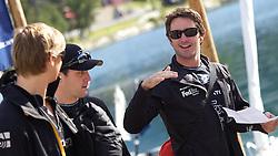 Adam Minoprio, ETNZ/BlackMatch Racing. St Moritz Match Race 2010. World Match Racing Tour. St Moritz, Switzerland. 2nd September 2010. Photo: Ian Roman/WMRT.