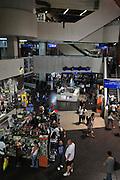 Israel, Tel Aviv interior of a shopping mall