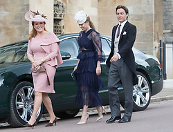 May 18, 2019 - Windsor, United Kingdom - Image licensed to i-Images Picture Agency. 18/05/2019. Windsor , United Kingdom. Princess Beatrice  arriving for the Lady Gabriella Windsor  at St.George's Chapel, Windsor, United Kingdom. (Credit Image: © Stephen Lock/i-Images via ZUMA Press)