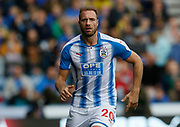 Huddersfield Town's Laurent Depoitre during the Premier League match between Huddersfield Town and Tottenham Hotspur at the John Smiths Stadium, Huddersfield, England on 30 September 2017. Photo by Paul Thompson.