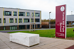 © Licensed to London News Pictures. 08/02/2020. Milton Keynes, UK. Kents Hill Park Secondary School is located opposite the Kents Hill Park Training and Conference Centre. A Milton Keynes conference centre is to house evacuees from the Chinese city of Wuhan, the epicentre of the Novel Coronavirus (2019-nCoV) outbreak, the British citizens are due to be flown back on Sunday 9th February and are expected to land at RAF Brize Norton in Oxfordshire and will remain at the Kents Hill Park Training and Conference Centre for 14 days to be monitored. Photo credit: Peter Manning/LNP