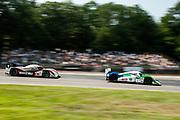 August 4-6, 2011. American Le Mans Series, Mid Ohio. 6 Muscle Milk Aston Martin Racing, Lucas Luhr, Klaus Graf, Lola-Aston Martin B08/62, Aston Martin 6.0 L V12, 16 Dyson Racing Team, Chris Dyson, Guy Smith, Lola B09/86, Mazda MZR-R 2.0 L Turbo I4