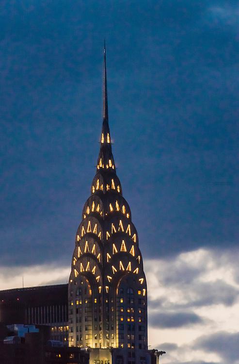 Chrysler Building, Midtown Manhattan, New York City, New York USA.