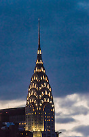 Chrysler Building, Midtown Manhattan, New York City, New York USA.