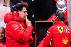 February 19, 2019 - Montmelo, BARCELONA, Spain - Mattia Binotto Team Chief Scuderia Ferrari Mission Winnow SF90 portrait  during the Formula 1 2019 Pre-Season Tests at Circuit de Barcelona - Catalunya in Montmelo, Spain on February 19. (Credit Image: © AFP7 via ZUMA Wire)