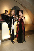 Cybela Clare and Andrea Duder-Webb, Treasures From The Gem Palace, Private view of gem stones created by a family of Indian court jewellers from Jaipur (the Kasliwals). Somerset House, London, WC2, 28 September 2006. www.somerset-house.org.uk-DO NOT ARCHIVE-© Copyright Photograph by Dafydd Jones 66 Stockwell Park Rd. London SW9 0DA Tel 020 7733 0108 www.dafjones.com