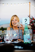 Guest at Northstar Winery Harvest Dinner