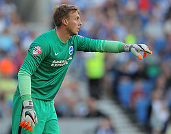 David Stockdale of Brighton & Hove Albion - Mandatory byline: Paul Terry/JMP - 07966386802 - 07/08/2015 - FOOTBALL - Falmer Stadium -Brighton,England - Brighton v Nottingham Forest - Sky Bet Championship