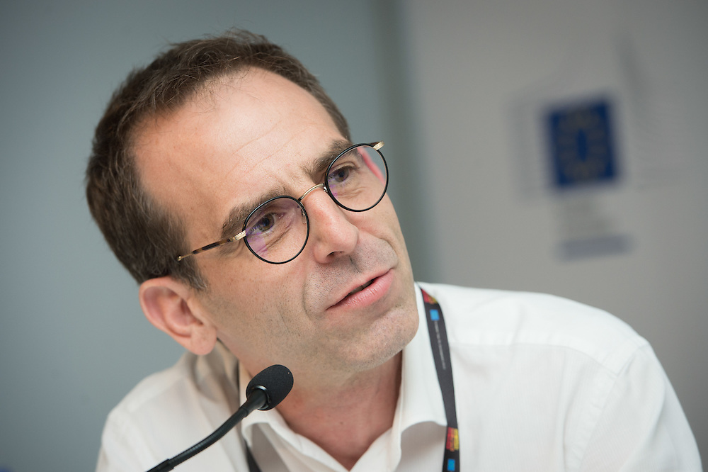 04 June 2015 - Belgium - Brussels - European Development Days - EDD - Urban - The Human Scale - For people-centered sustainable cities - <br /> Frédéric Saliez , Human Settlements Officer, United Nations Human Settlements Programme (UN Habitat) © European Union