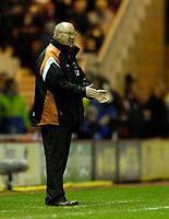 Photo: Jed Wee.<br />Middlesbrough v Charlton Athletic. The Barclays Premiership. 23/12/2006.<br /><br />Charlton manager Les Reed.