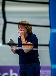 29-09-2018 NED: Supercup Sliedrecht Sport - Eurosped, Sliedrecht<br /> Sliedrecht takes the first price of the new season / Coach Vera Koenen