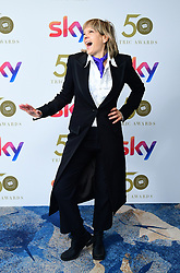 Penny Smith attending the TRIC Awards 2019 50th Birthday Celebration held at the Grosvenor House Hotel, London.