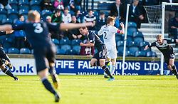 Falkirk's Kris Faulds celebrates after scoring their goal.<br /> Raith Rovers 1 v 1 Falkirk, Scottish Championship 28/9/2013.<br /> ©Michael Schofield.