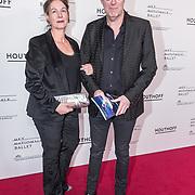 NLD/Amsterdam/20190316  - Premiere balletvoorstelling Het Zwanenmeer, Bart Chabot en partner Yolanda