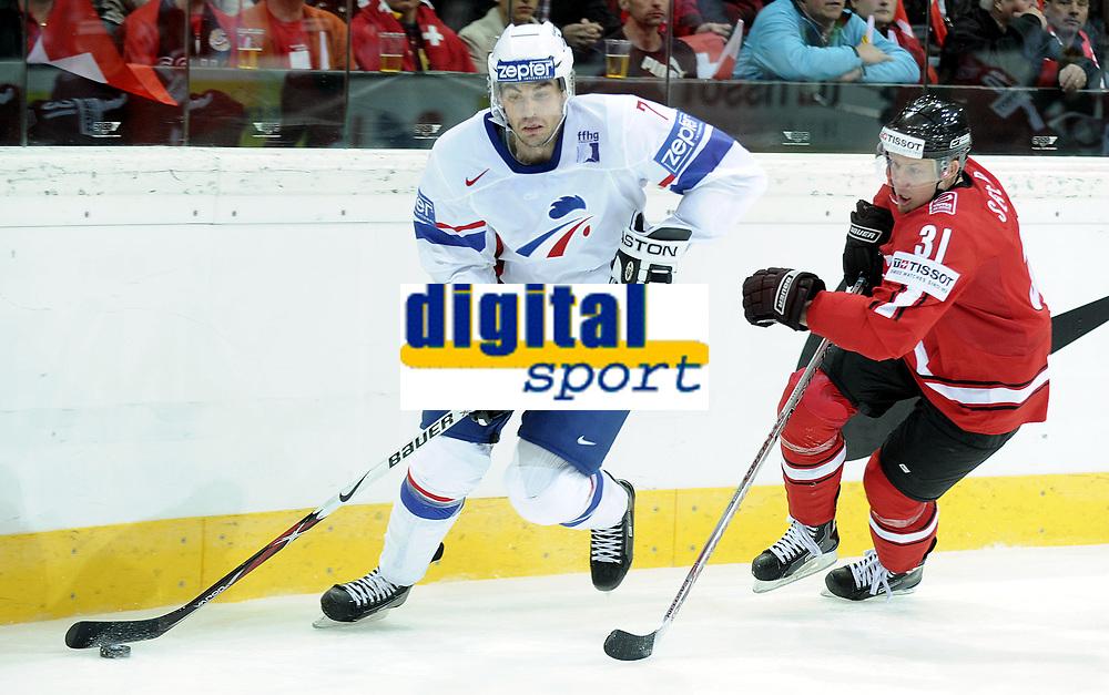 Yorick Treille (FRA) gegen Mathias Seger (SUI) © Melanie Duchene/EQ Images