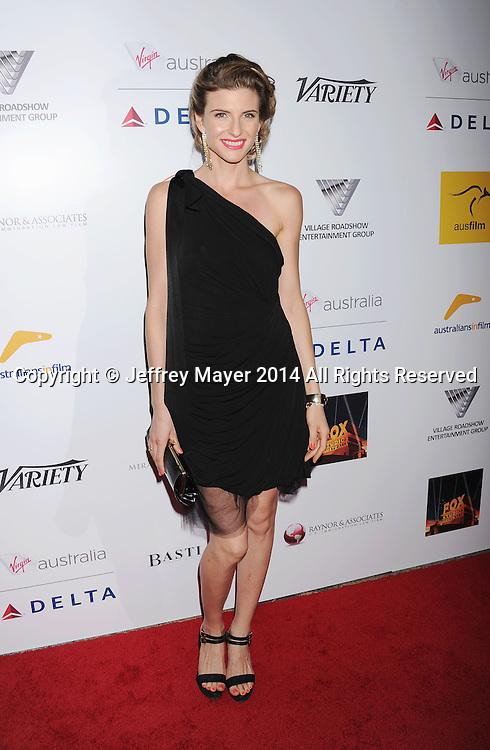 SANTA MONICA, CA- OCTOBER 26: Actress Viva Bianca attends the 3rd Annual Australians in Film Awards Benefit Gala at the Fairmont Miramar Hotel on October 26, 2014 in Santa Monica, California.