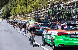 10.07.2019, Fuscher Törl, AUT, Ö-Tour, Österreich Radrundfahrt, 4. Etappe, von Radstadt nach Fuscher Törl (103,5 km), im Bild Daniel Eichinger (Hrinkow Advarics Cycleang, AUT) // during 4th stage from Radstadt to Fuscher Törl (103,5 km) of the 2019 Tour of Austria. Fuscher Törl, Austria on 2019/07/10. EXPA Pictures © 2019, PhotoCredit: EXPA/ JFK