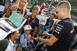 August 24, 2017 - Spa-Francorchamps, Belgium - Motorsports: FIA Formula One World Championship 2017, Grand Prix of Belgium, .#77 Valtteri Bottas (FIN, Mercedes AMG Petronas F1 Team) (Credit Image: © Hoch Zwei via ZUMA Wire)